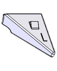 Befestigungsplatte für Rollwiderstand-System (RWS), links